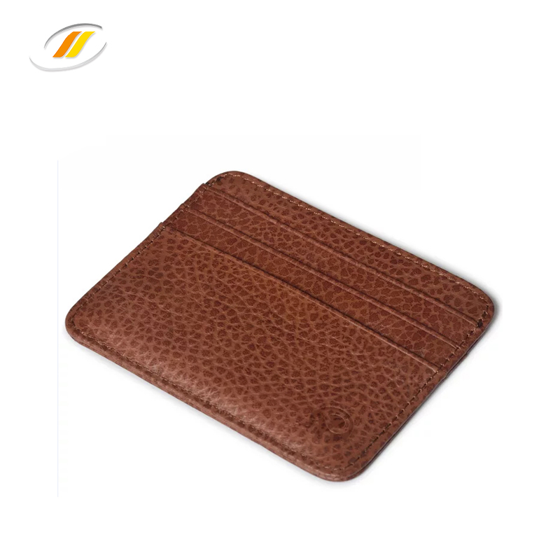 High quality Classic design cow leather passport holder card holder