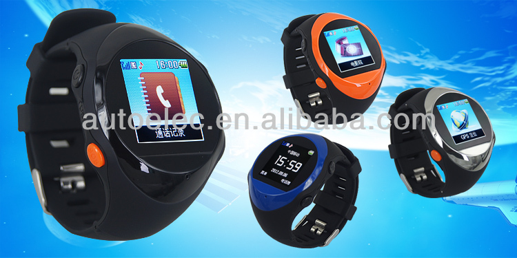 PG88 Wrist Watch GPS Tracker real-tme tracking with high accuracy for different usage
