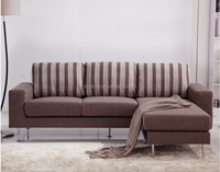 living room furniture, L sharp cheap sofa