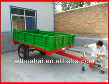 europ style 7c/7cx-2 farm trailer (mechanical or air brake) for tractor