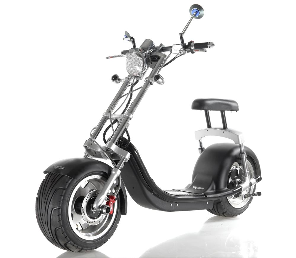 2017 EEC,CE ,RoHS certificate 18*9.5 TYRE CITYCOCO scooter 1000w /1500W high quality electric haley scooter