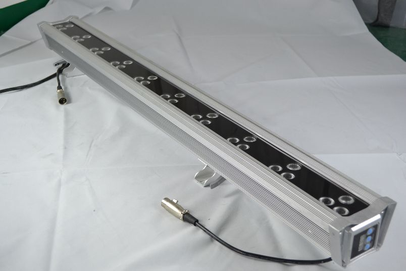 FCC SAA 0.3m- 1m Stage DMX RGBWA 5in1 LED Wall Washer wIth 3 years warranty