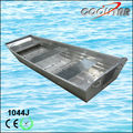 1.2mm thickness J type small aluminum boat for sale
