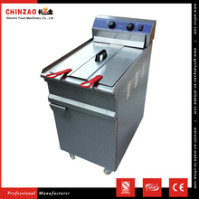 CHINZAO Alibaba Hot Sale CE Certification Easy Clean Electric Deep Fryer Conveyor For Quick Meal