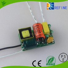 led driver open frame 12w 15w 18w EMC non-flicker driver led drivers