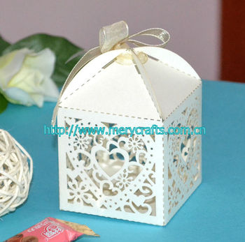 Perfect model for wedding gift! wedding favour laser cut gift box