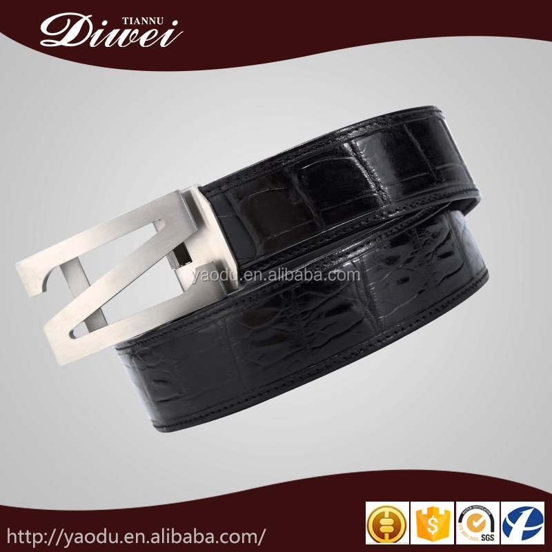 2016 wholesale new brand business style genuine leather belts for men