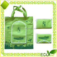 factory offer modern give away promotional gift advertisement popular reusable fashion folding pp non woven bag