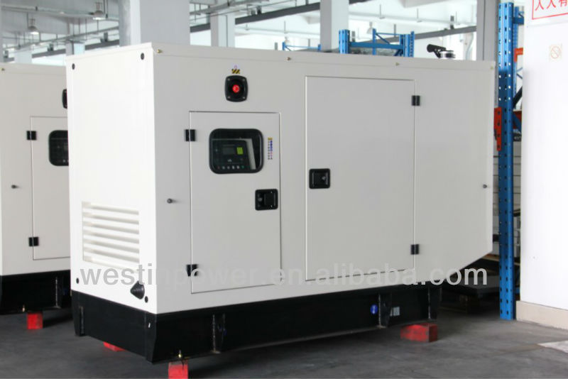 45KVA/36KW With UK Perkins Engine Diesel Generator set with Stamford AC alternator(TP50T)