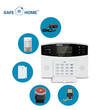 Auto Dial Gsm Wireless Home Burglar Security Alarm System For Home
