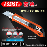 fine quality snap blade ABS knife cutter utility knife sliding knife