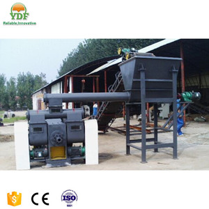 high production capacity palm fiber briquette making machine KJY-1000 with stable delivery time made in China