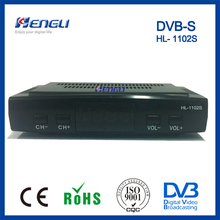 high quality mini ali3329 chipset dvb-s tv set top box fta digital satellite receiver
