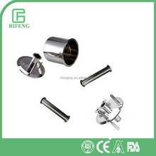 SS304/316 Sanitary Stainless Steel Tri clamp Pipe Fitting Spool With Ferrule