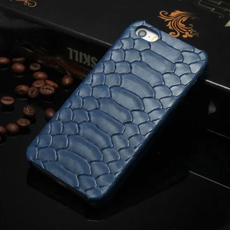 wp1028d Snake pattern Luxury Leather Case for Sony Ericsson Phone