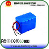 Rechargeable Li-ion battery pack 12v 10ah with BMS for energy storage