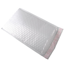 Custom Pearl Film Mailing Bubble Envelope Bag For Packing Production Line Save Cost