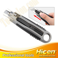 Professional Auto Retractable Safety Box Cutter knife