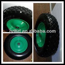 rubber wheels pu foam rubber wheels 4.00-8