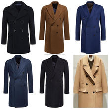 2017 Direct Factory of Double Breasted Wool Coat for Men with Lowest Factory Wholesale Prices