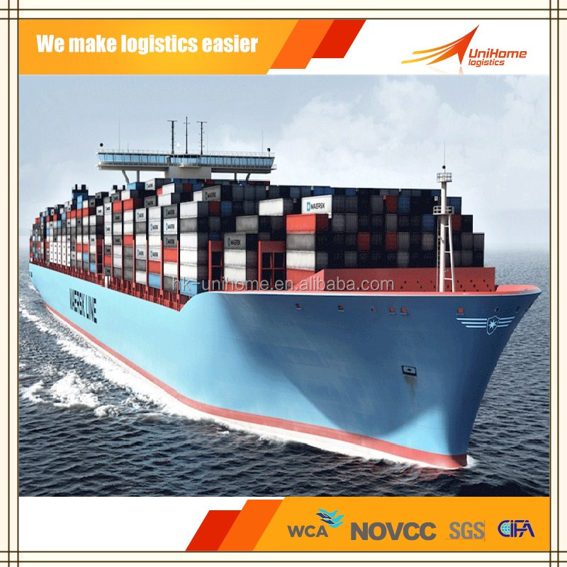 shipping container logistics service from China to USA Canada sea freight forwarder ---Skype:mark.unihome