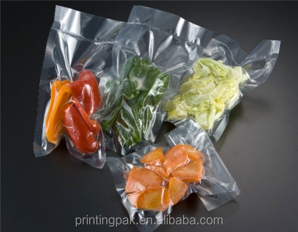 frozen food chicken pork beef meat laminated PET NY PE vacuum packing bags