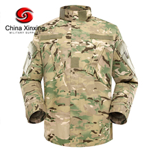 Xinxing 65%Polyester 35%Cotton Military Army Tactical Multicam ACU Combat Training Uniform YL01