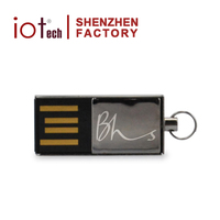 Shenzhen Factory Top 3 Supplier Micro Mini Metal USB Flash Drives Bulk Cheap