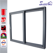 Australian standard anti theft aluminum exterior unique sliding doors floor track