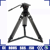 New safety telescopic photo low three yuntai tripod camera video/ tripods for cameras video
