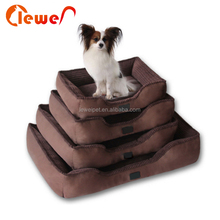Customized cheap cute washable pet bed large dog beds
