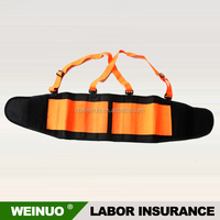 Factory price comfortable orange back and shoulders support belt