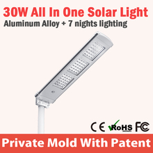 high quality solar led street light parts with great price