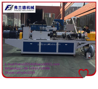 Automatic PP PE film plastic recycling pellet granulator extruder machine