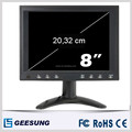 8 Inch Touch Screen LCD Monitor With AV Input