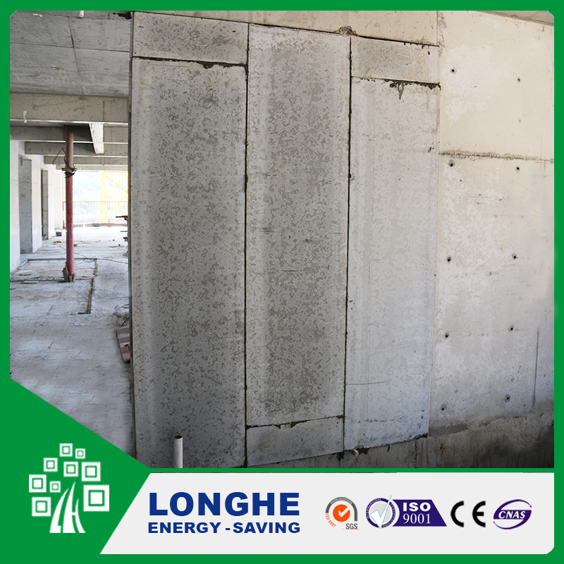 Longhe 90MM CE Passed Decorative concrete blocks wall