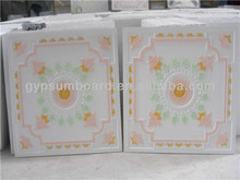 gypsum ceiling board/ 595*595*9mm /new designs/ china famous brand