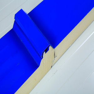 PPGL 150mm PU foam profiled roofing panels/sheets