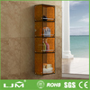 rattan furniture china bathroom toilet corner shelf with wheels