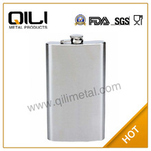 QiLi 12oz stainless steel hip flask