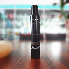 Black 3 ml cosmetic pipe , multi-port extruded aluminium tubes , massage tube