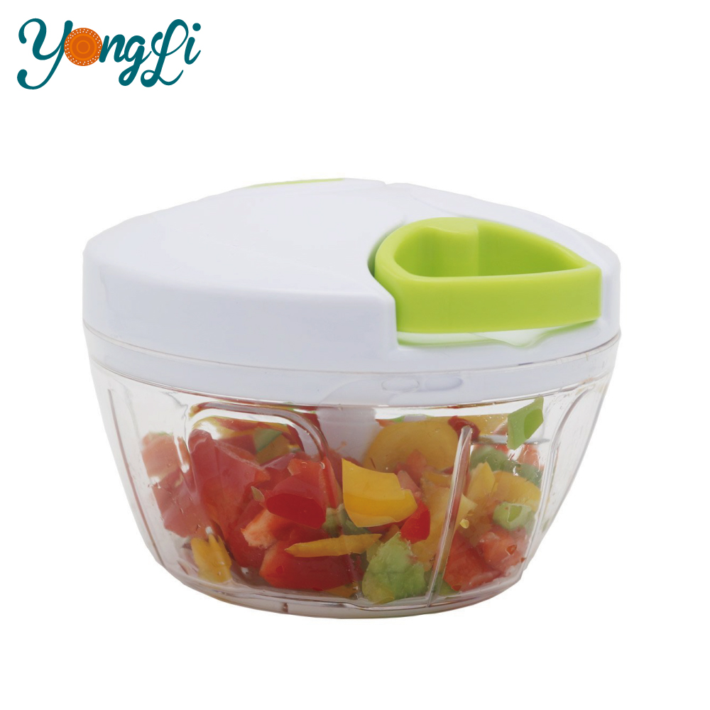 Kitchen Tools for Manual Plastic Cutting Fruit and Vegetable Chopper