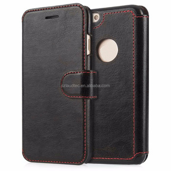 2016 New products PU leather phone case for apple iphone 7plus for iphone 7 case mobile cover