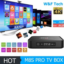 M8s pro android 6.0 lollipop smart tv box smart tv box Amlogic S905x 2gb ram 8gb rom m8s pro with bluetooth 4.0 ott tv box
