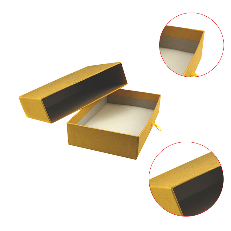 Wholesale dvd gift box custom printing drawer packaging box