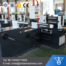aluminium coil longitudinal cutting slitting machine with uncoiler