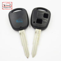High Quatity Toyota remote key shell 2 button Car Key toyota with toy 41 blank romote key shell