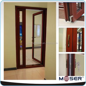 2016 modern single wooden wood door design sound proof for Single wooden door designs 2016
