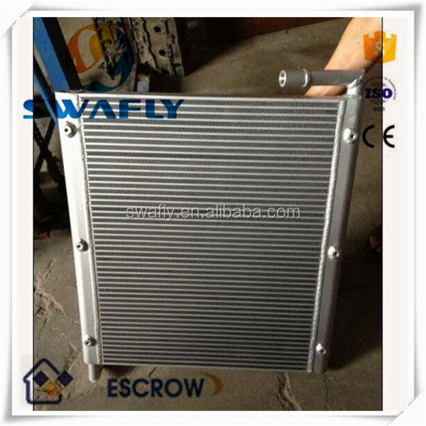 OEM New Good Price SK120-5 Hydraulic Fan Oil Cooler For Excavator