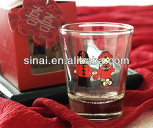 Wedding Glass Cup / Wedding Favors Gift / Shot Glass